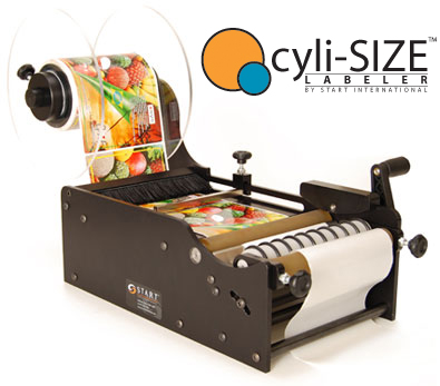cyli-SIZE Manual Bottle Labeler